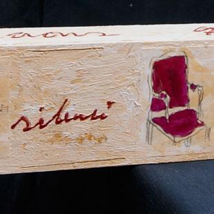 Cadira vermella